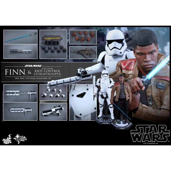 Hot Toys MMS 346 Star Wars : TFA – Finn & FO Rio Control Stormtrooper