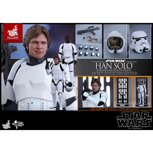 Hot Toys MMS 418 Star Wars IV – Han Solo (Stormtrooper Disguise)