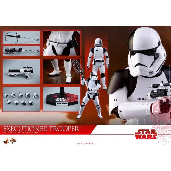 Hot Toys MMS428 Executioner Trooper Star Wars The Last Jedi - 1/6 Figure