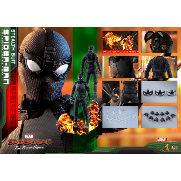 HOT TOYS MMS 541 SPIDER-MAN: FAR FROM HOME  (STEALTH SUIT)
