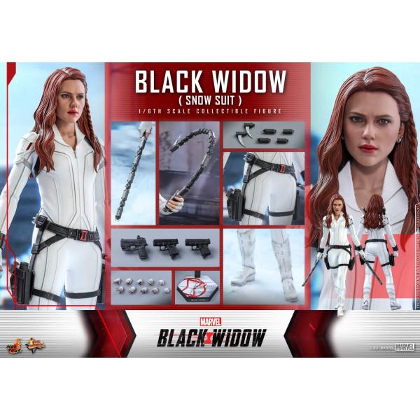 PREORDINE Hot Toys MMS 601 Black Widow Snow Suit