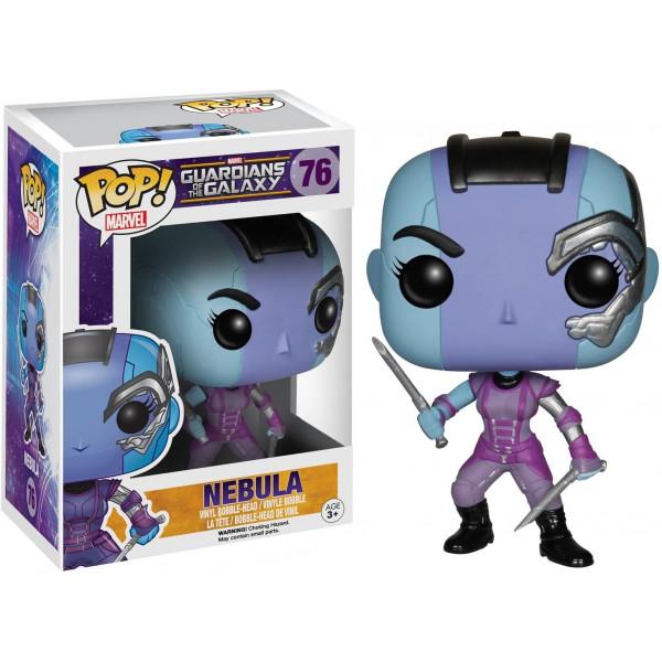 Nebula POP! Marvel #76, Marvel Guardians of the Galaxy – Bobble Head – con scatola autografata da Karen Gillan