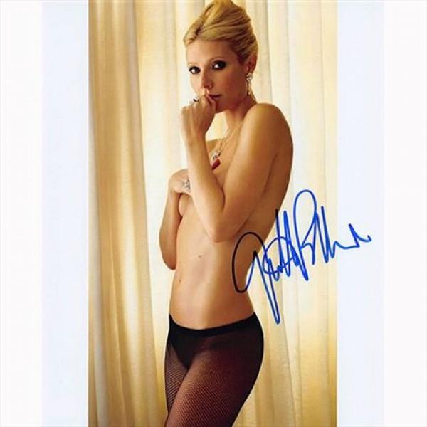 Autografo Gwyneth Paltrow Foto 20x25