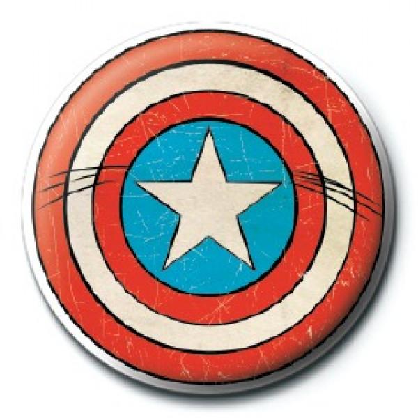 Spilla Captain America Shield Scudo