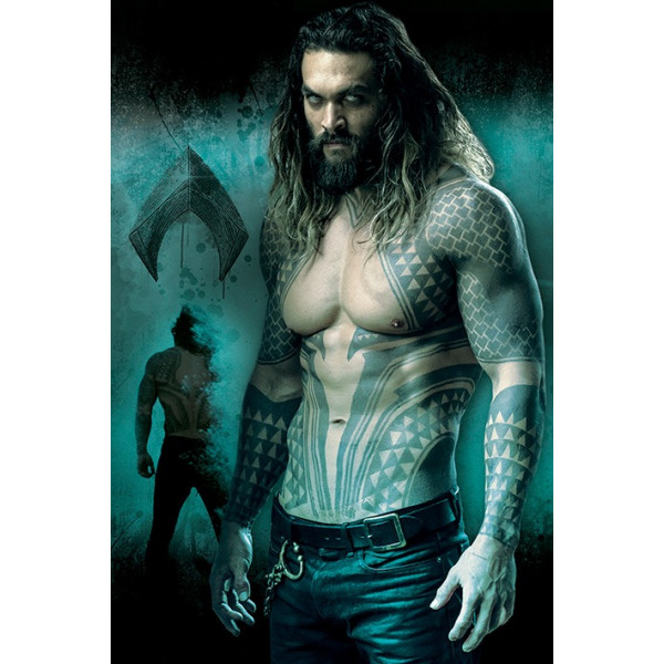 Poster Justice League (Aquaman)