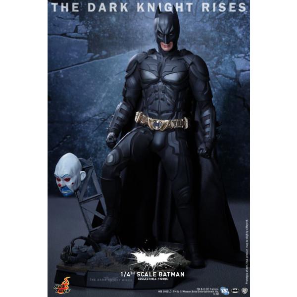 Hot Toys QS 01 The Dark Knight Rises – Batman 1/4 special edition
