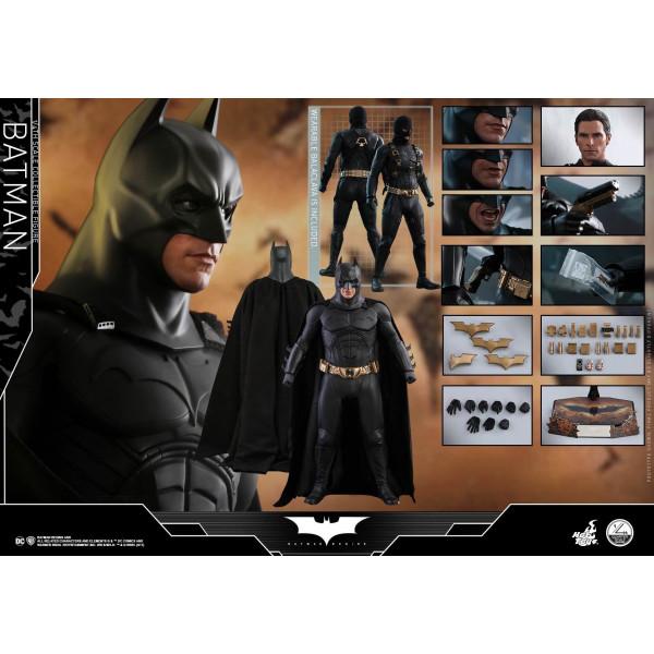 HOT TOYS QS 09 BATMAN BEGINS - BATMAN 1/4 Action Figure
