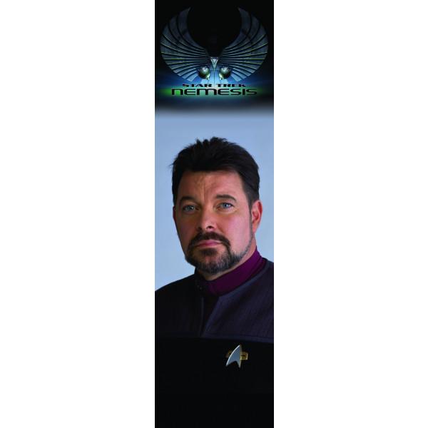 Segnalibro Riker – Star Trek Nemesis