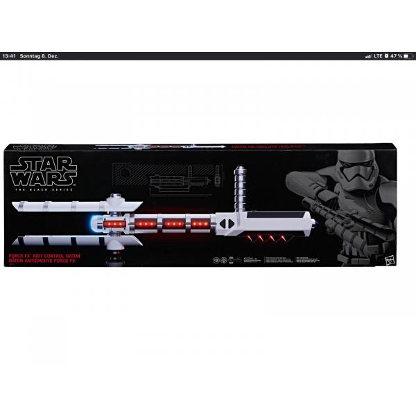 HASBRO Star Wars Black Series Force FX z6 Riot Control Baton