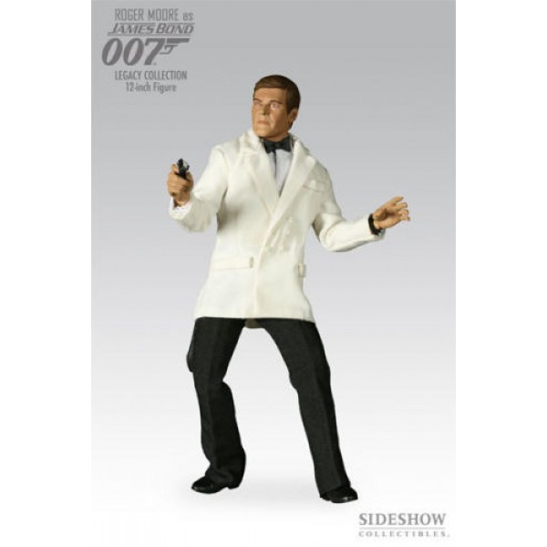 "Sideshow 007 Legacy: Roger Moore as James Bond 12"" 1/6 Scale Figure"