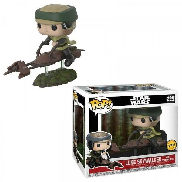 Funko Pop! Luke Skywalker wiyh speeder bike #229 chase