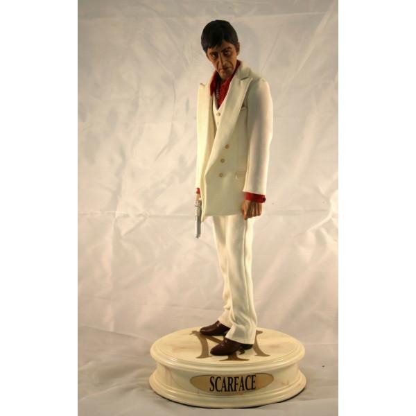 SCARFACE Tony Montana Al Palcino statua Sideshow 50 cm scala 1:4 Polystone Premium Format Figure