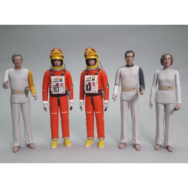 Space: 1999 set completo 5 action figure