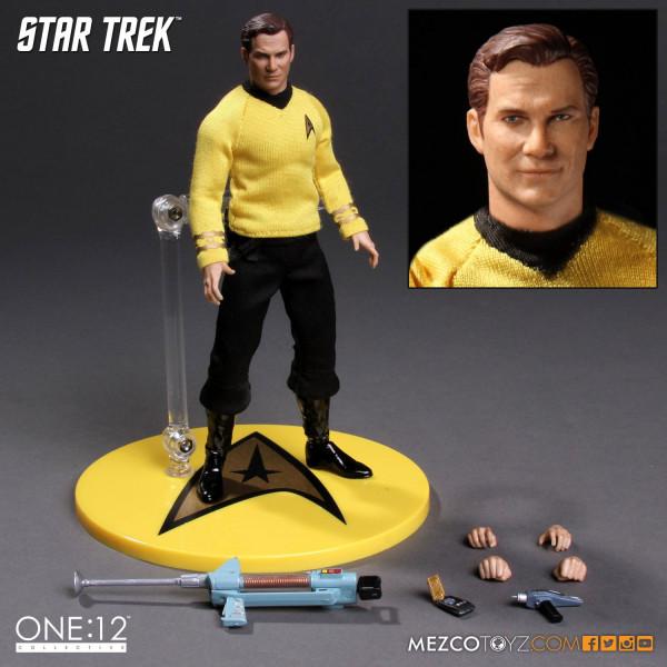 Star Trek Action Figure 1/12 Kirk 15 cm