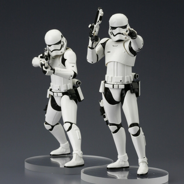 Star Wars Episode VII pack 2 Kotobukiya ARTFX+ First Order Stormtroopers