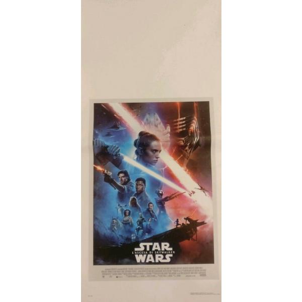 Locandina Star Wars L'ascesa di Skywalker 33x70