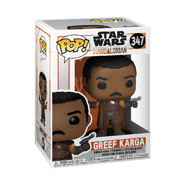 STAR WARS: THE MANDALORIAN - GREEF KARGA FIGURA FUNKO POP! VINYL