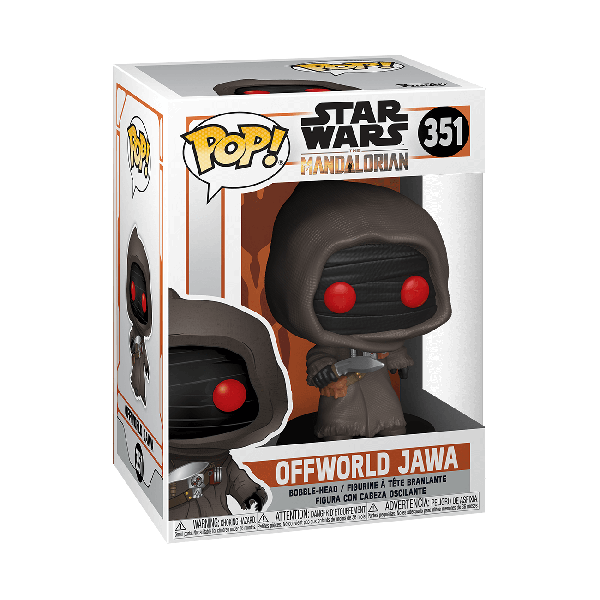 STAR WARS: THE MANDALORIAN - OFFWORLD JAWA FIGURA FUNKO POP! VINYL