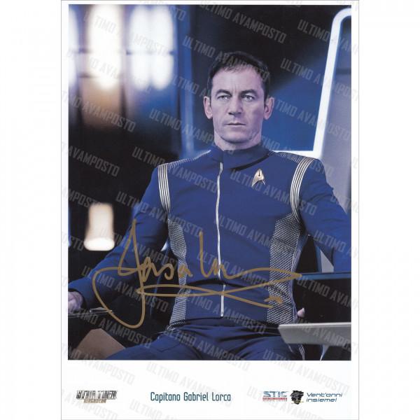 Autografo Jason Isaacs Star Trek Discovery Foto 20x25