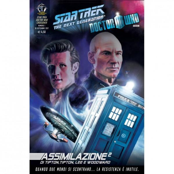 Fumetto Assimilazione² N°1 di 8 – Star Trek The Next Generation & Doctor Who
