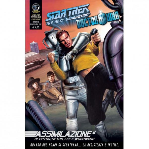 Fumetto Assimilazione² N°3 di 8 – Star Trek The Next Generation & Doctor Who