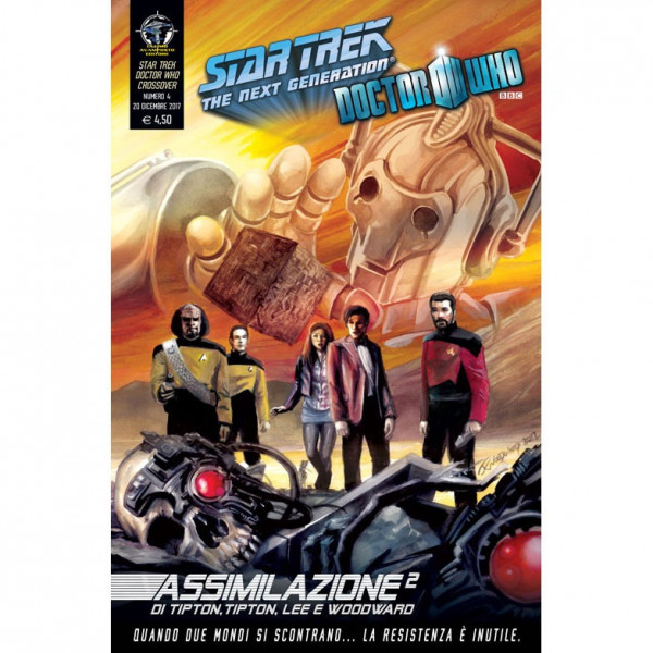 Fumetto Assimilazione² N°4 di 8 – Star Trek The Next Generation & Doctor Who