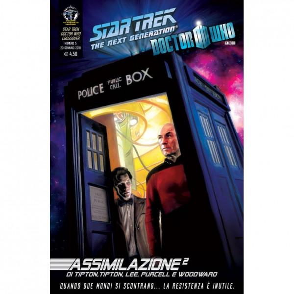 Fumetto Assimilazione² N°5 di 8 – Star Trek The Next Generation & Doctor Who