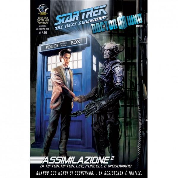 Fumetto Assimilazione² N°6 di 8 – Star Trek The Next Generation & Doctor Who