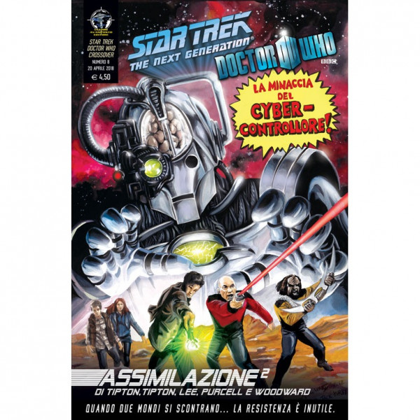 Fumetto Assimilazione² N°8 di 8 – Star Trek The Next Generation & Doctor Who