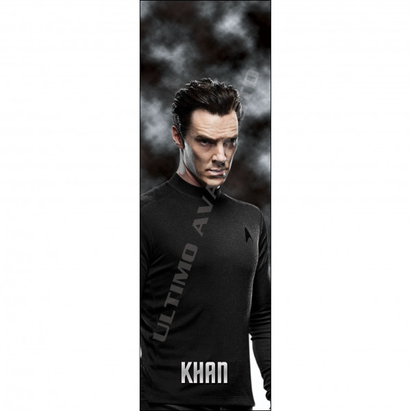 Segnalibro Khan mezzobusto Star Trek Reboot