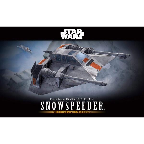 Bandai 1/48 Snowspeeder Rogue Two | Model Kits Review
