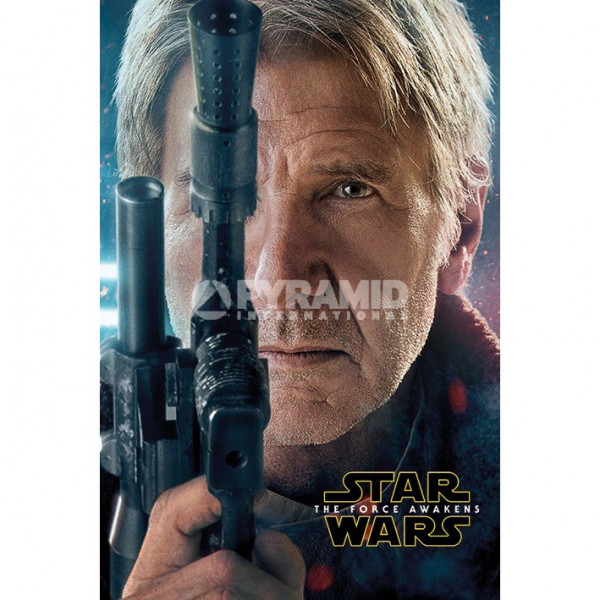 Poster Star Wars Episode VII Han Solo Teaser