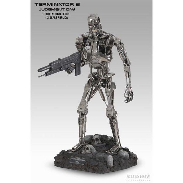 Sideshow T-800 Endoskeleton 1:2 Scale Replica Statue 43#500