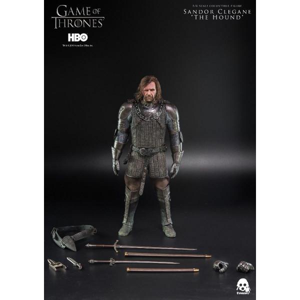 ThreeZero - HBO - Game Of Thrones - Sandor Clegane The Hound 1/6