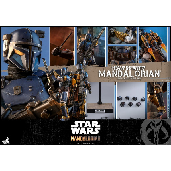 HOT TOYS Star Wars The Mandalorian  1/6 Heavy Infantry