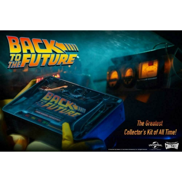 DOCTOR COLLECTOR - Back to the Future Time Travel Memories Kit