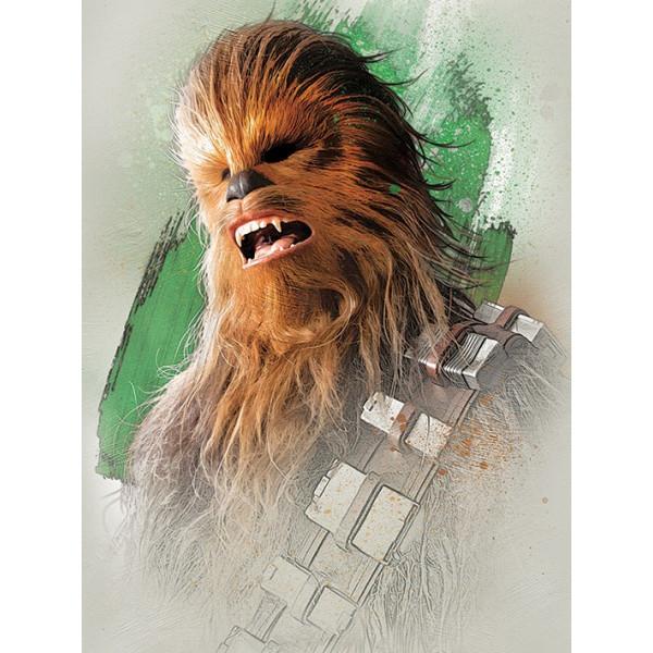 Quadro Star Wars The Last Jedi Chewbacca