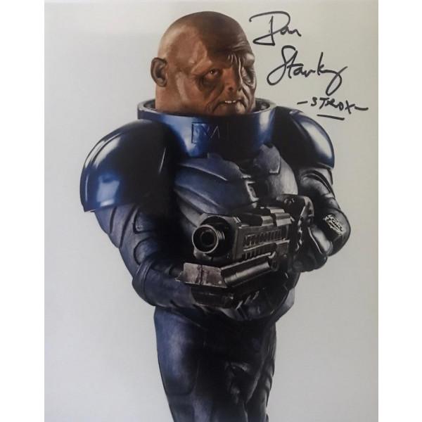 Autografo Dan Starkey Doctor Who Foto 20x25
