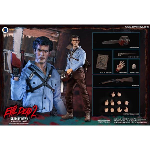 PREORDINE ASMUS TOYS The Evil Dead II Action Figure 1/6 Ash Williams 32 cm