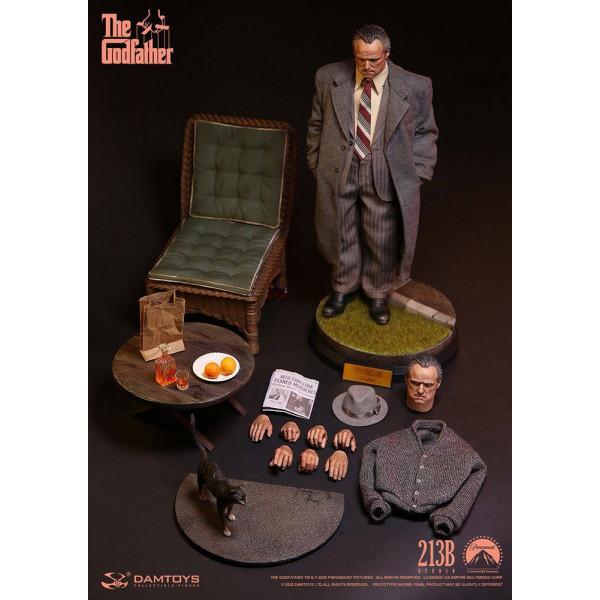 PREORDINE The Godfather Action Figure 1/6 Vito Corleone Golden Years Version 32 cm