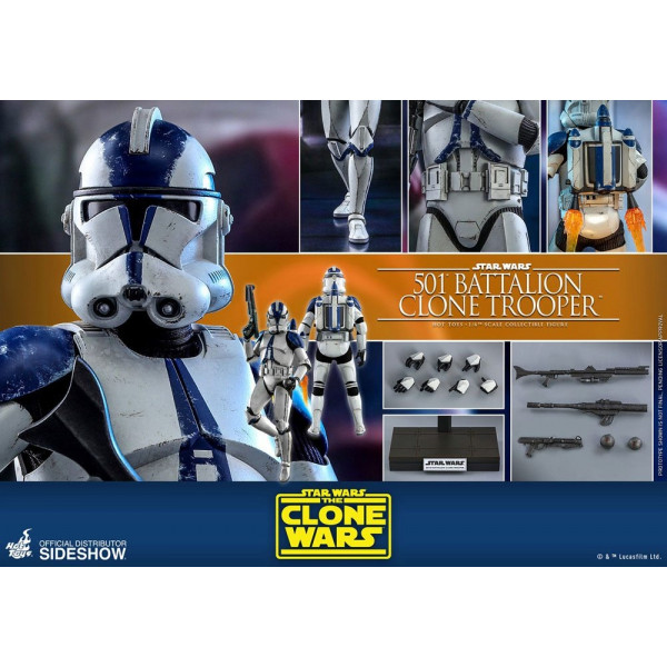 PREORDINE Hot Toys TMS 25 Star Wars : The Clone Wars – Coruscant Guard
