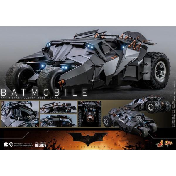 PREORDINE The Dark Knight Trilogy  Masterpiece Action Figure 1/6 Batmobile 73 cm