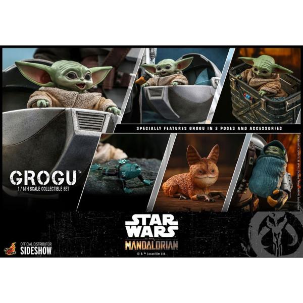 PREORDINE HOT HOYS Star Wars The Mandalorian Action Figures 1/6 Grogu