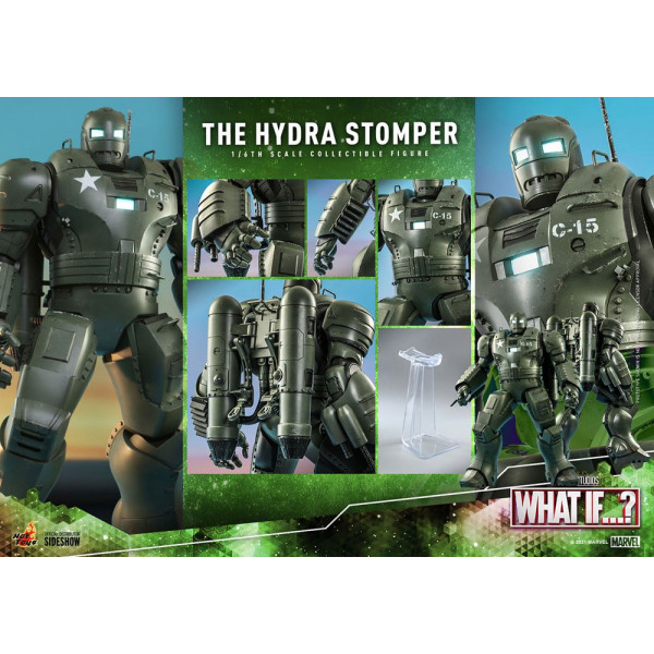 PREORDINE Hot toys What If...? Action Figure 1/6 The Hydra Stomper 56 cm