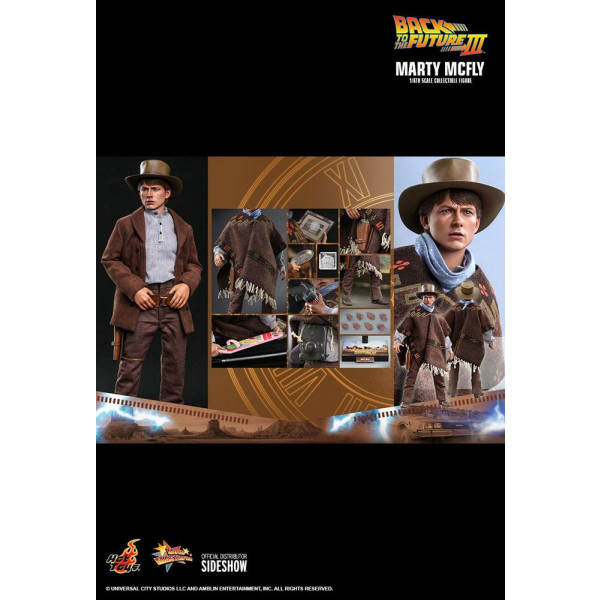 PREORDINE HOT TOYS Marty McFly Back To The Future III 1/6