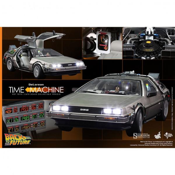 RITORNO AL FUTURO - Back to the Future - DeLorean 1/6 Vehicle MMS260 Hot Toys