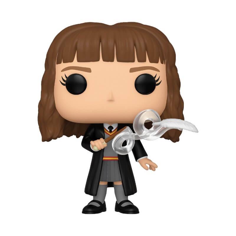 Harry Potter Funko Pop Hermione Granger con piuma Nuova Figura In Vinile Ufficiale
