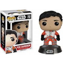 Funko Pop! Star Wars Poe Dameron Without Helmet Episode VII