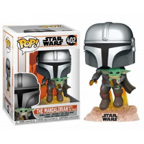 Funko Pop! STAR WARS THE MANDALORIAN:The MANDALORIAN with the Child #402