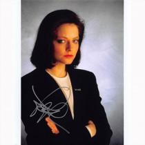 Autografo Jodie Foster Il Silenzio degli Innocenti Foto 20x25